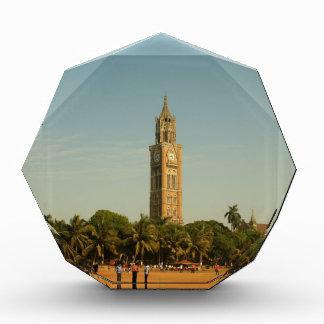 ムンバイの時計台 表彰盾