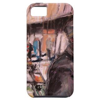 ムーアの通りのダブリンの買物客 iPhone SE/5/5s ケース