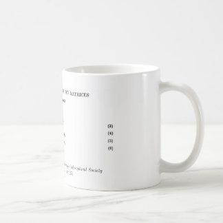 ムーアPenrose定義 コーヒーマグカップ