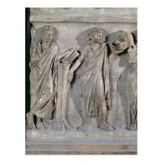 ムーサの石棺、Clioの詳細及び ポストカード