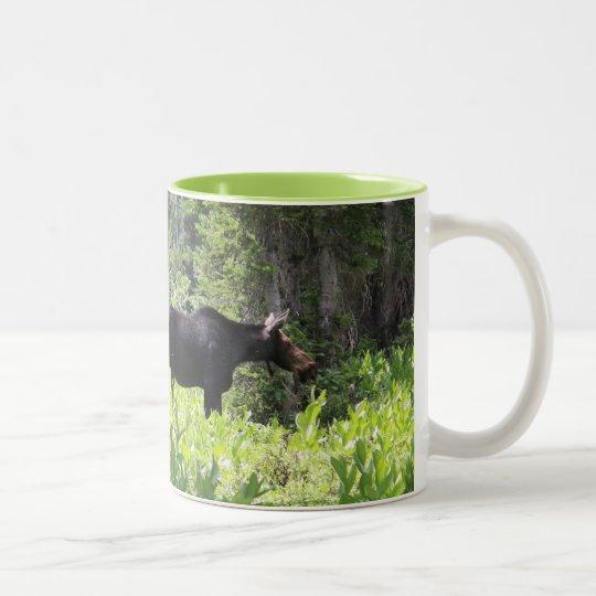 ムースの親子マグカップ ツートーンマグカップ