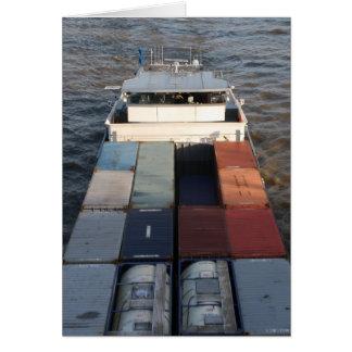 ムーズ、ロッテルダムの貨物船 カード