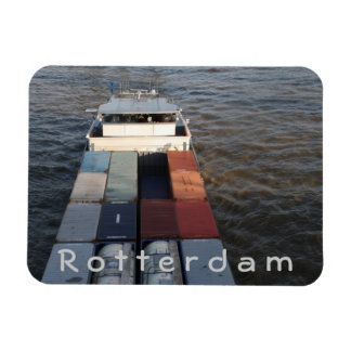 ムーズ、ロッテルダムの貨物船 マグネット
