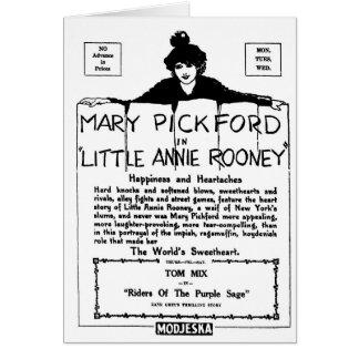 メアリー・ピックフォード小さいアニーRooney 1925年 カード
