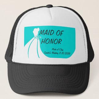 メイド・オブ・オーナー(花嫁付き添い人)のカジュアルな帽子 キャップ