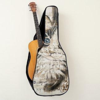 メインのあらいぐまの子猫音楽 ギターケース