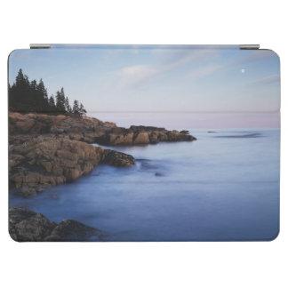 メインのアカディア国立公園、Moonset iPad Air カバー
