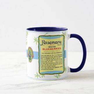 メインのブルーベリーのマグ マグカップ
