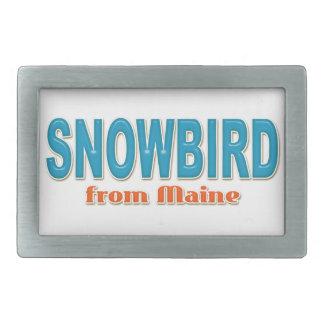 メインのベルトの留め金からのSnowbird 長方形ベルトバックル