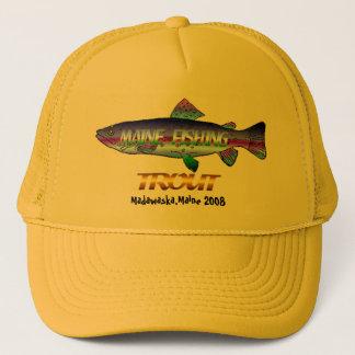 メインのマスの魚釣り キャップ