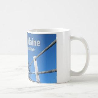 メインの冬 コーヒーマグカップ