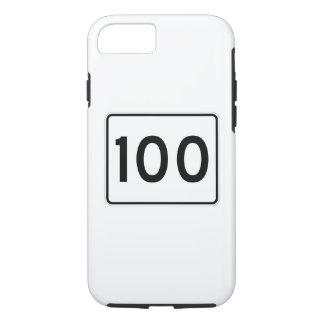 メインの州のルート100 iPhone 8/7ケース