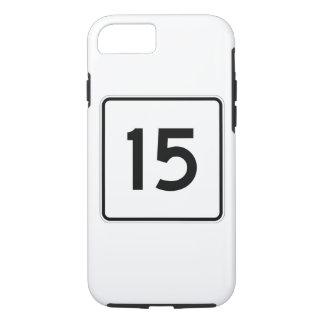 メインの州のルート15 iPhone 8/7ケース
