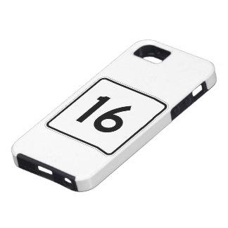 メインの州のルート16 iPhone SE/5/5s ケース