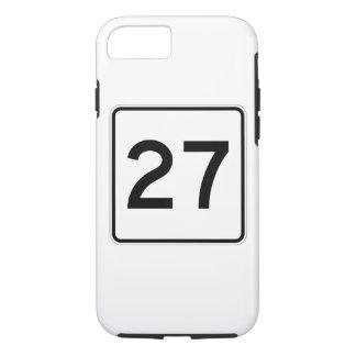 メインの州のルート27 iPhone 8/7ケース
