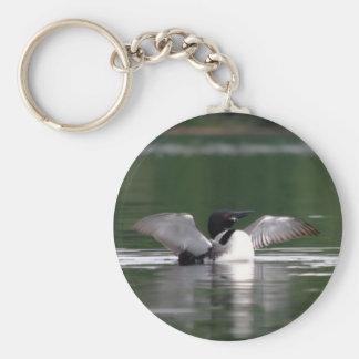 メインの水潜り鳥 キーホルダー