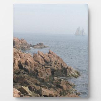 メインの海岸 写真プリントプレート