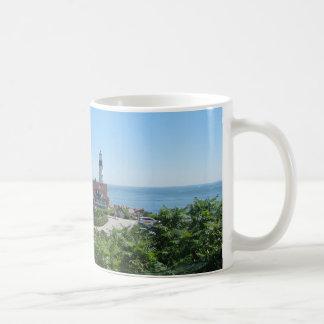 メインの灯台 コーヒーマグカップ