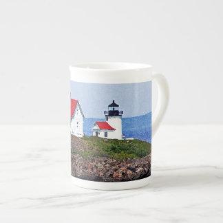 メインの灯台 ボーンチャイナカップ