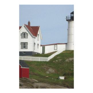 メインの灯台 便箋
