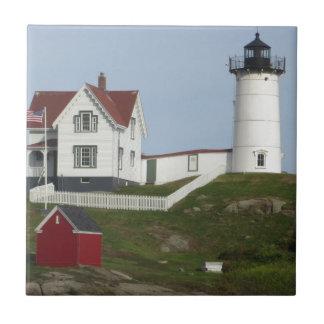 メインの灯台 正方形タイル小