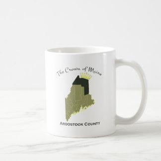 メインの王冠 コーヒーマグカップ