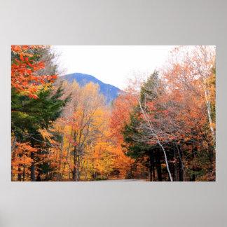 メインの秋 ポスター