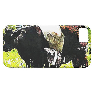 メインのOreoの牛そして子牛 iPhone SE/5/5s ケース
