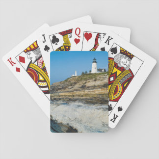 メインのPemaquidポイント、Pemaquidポイント灯台 トランプ