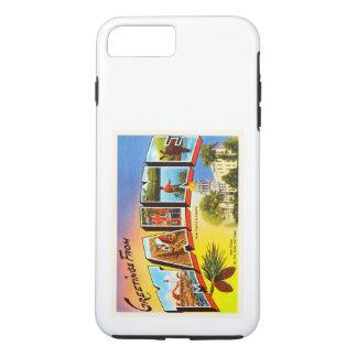 メイン州私古いヴィンテージ旅行記念品 iPhone 8 PLUS/7 PLUSケース