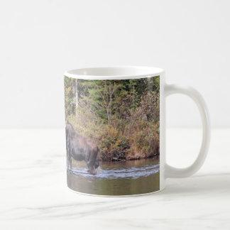 メイン牛アメリカヘラジカ コーヒーマグカップ