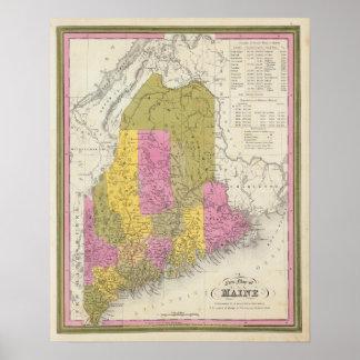 メイン2の新しい地図 ポスター