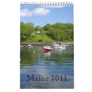 メイン2011沿岸Calander カレンダー