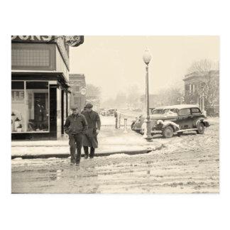 メイン・ストリート、1939年1月 ポストカード