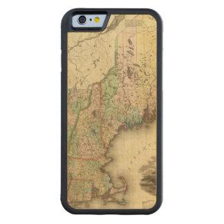 メイン、ニューハンプシャー、ヴァーモント、マサチューセッツ CarvedメープルiPhone 6バンパーケース