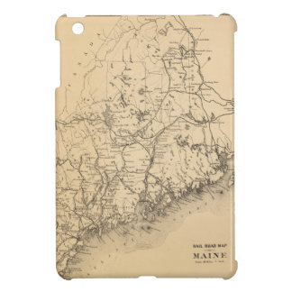 メイン(1894年)のヴィンテージの地図 iPad MINI CASE
