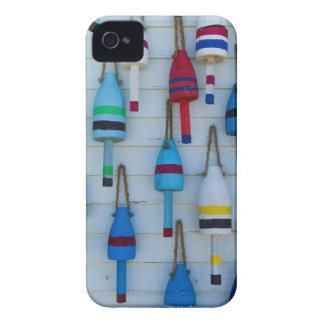 メイン、Stoningtonの装飾的なロブスターのブイ Case-Mate iPhone 4 ケース