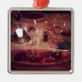 メカジキの夕食 メタルオーナメント