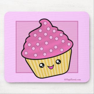 メガかわいいのカップケーキのマウスパッド マウスパッド