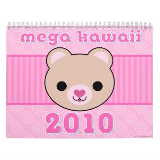 メガかわいい2010のカレンダー カレンダー