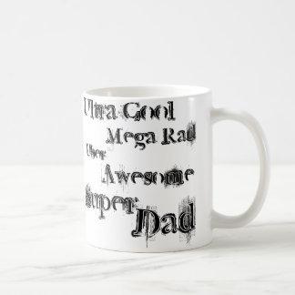 メガ素晴らしいパパ コーヒーマグカップ