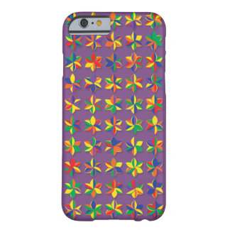 メガ色の花 BARELY THERE iPhone 6 ケース
