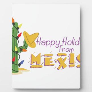 メキシコからの休日! フォトプラーク