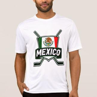 メキシコのアイスホッケーの旗 Tシャツ