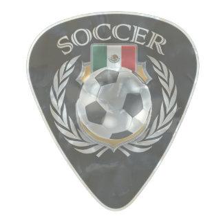 メキシコのサッカー2016ファンのギア パールセルロイド ギターピック