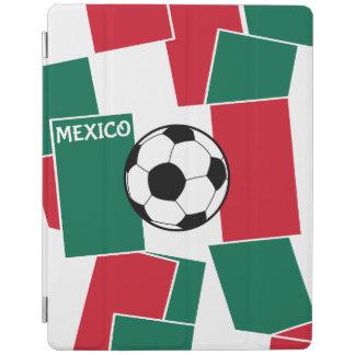 メキシコのフットボールの旗 iPadスマートカバー