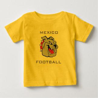 メキシコのフットボールのTシャツ ベビーTシャツ