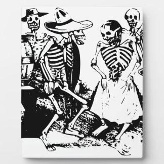 メキシコのヴィンテージを踊るGranのFandangoの骨組 フォトプラーク