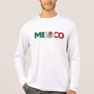 メキシコの性能マイクロ繊維の長袖 Tシャツ