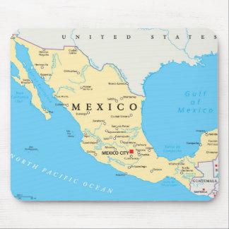メキシコの政治地図 マウスパッド